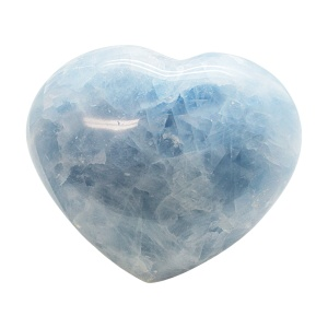 Blue Calcite Heart-0