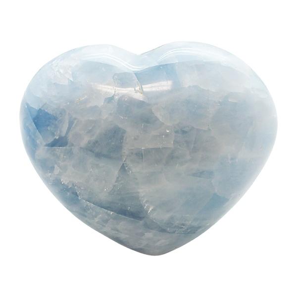 Blue Calcite Heart-217111