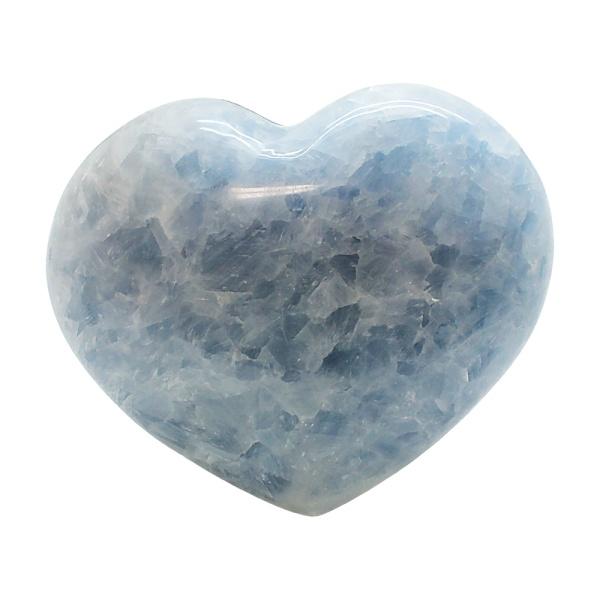Blue Calcite Heart-217113
