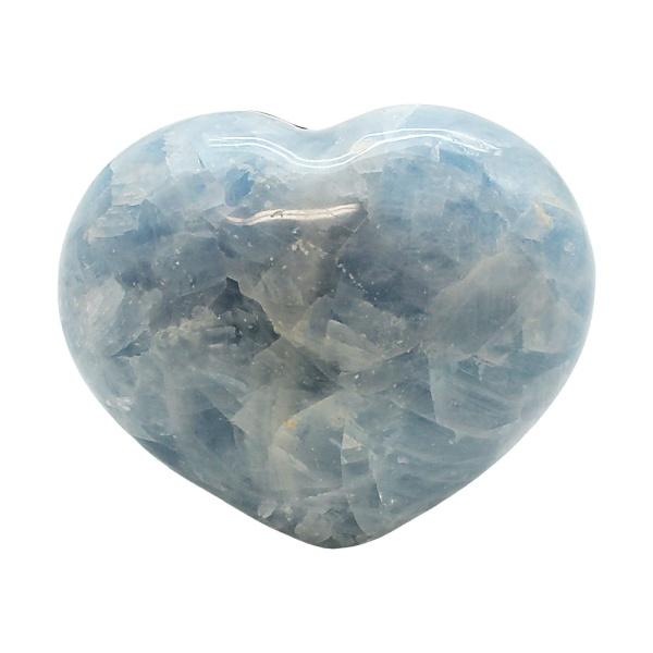 Blue Calcite Heart-217119