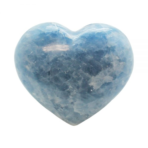 Blue Calcite Heart-0