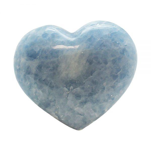 Blue Calcite Heart-217123