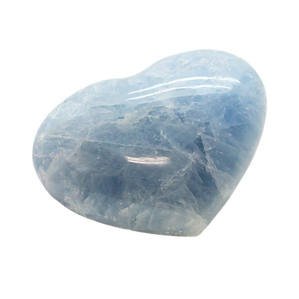 Blue Calcite Heart-217126