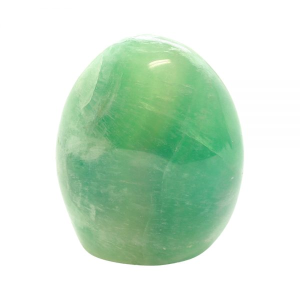 Polished Green Fluorite Display Piece-0