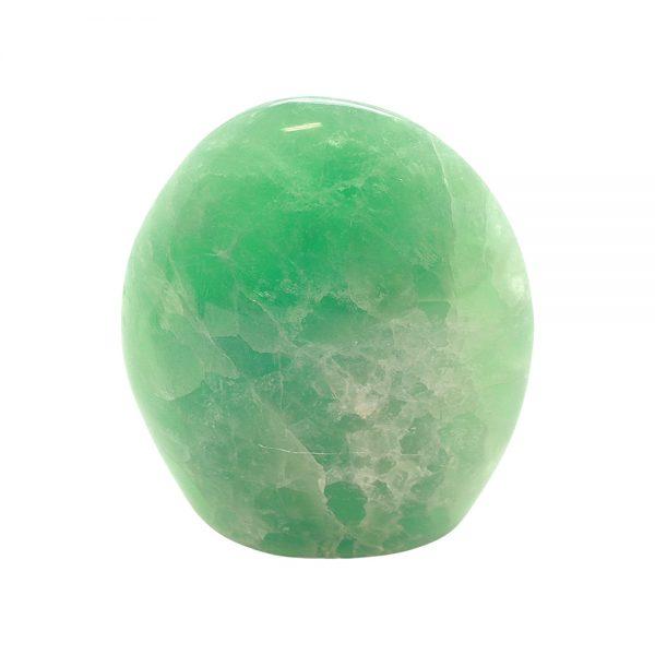 Polished Green Fluorite Display Piece-218018