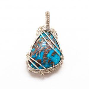 Bisbee Turquoise Pendant-0