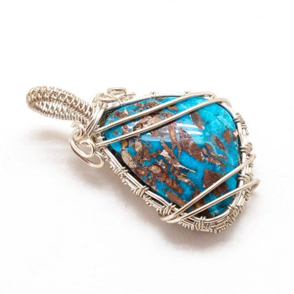 Bisbee Turquoise Pendant-217164