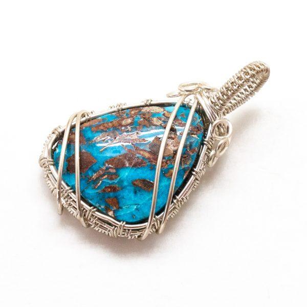 Bisbee Turquoise Pendant-217166