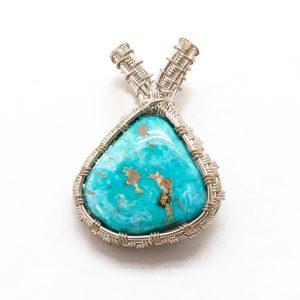 Skyline Turquoise Pendant-0