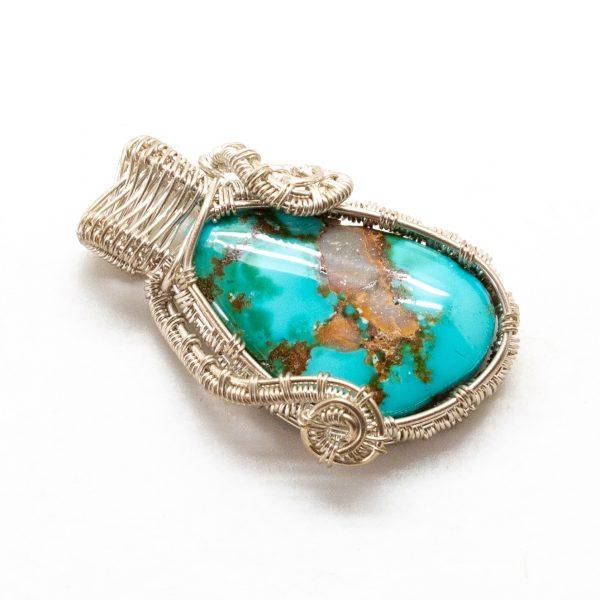 Blue Gem Turquoise Pendant-217181