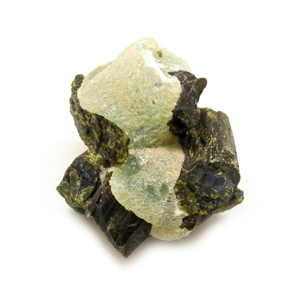 Prehnite with Epidote Crystal-217572