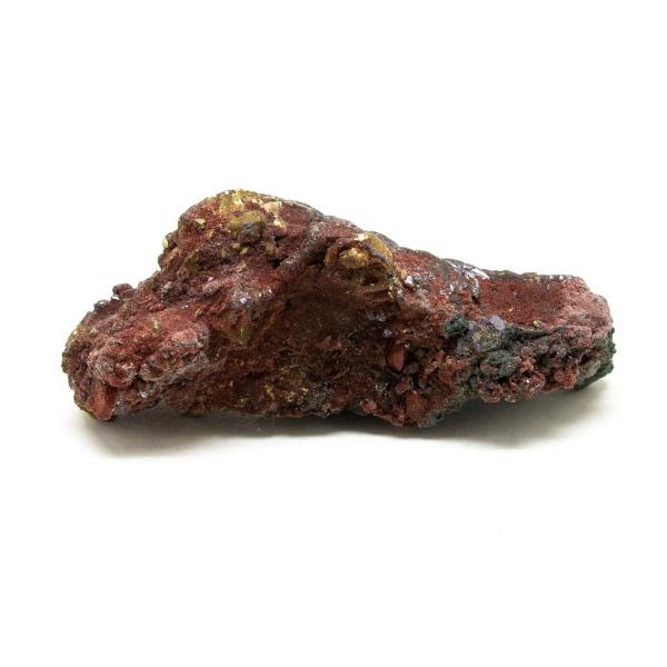 Fire Quartz with Chalcopyrite Crystal-218388