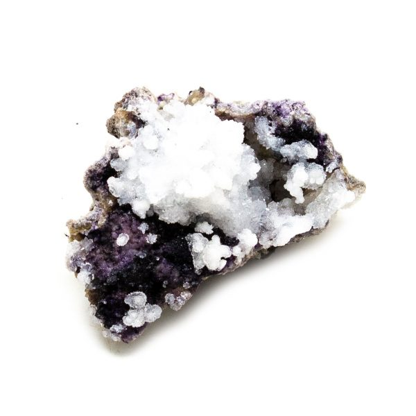 Fluorite with Selenite Cluster-218525