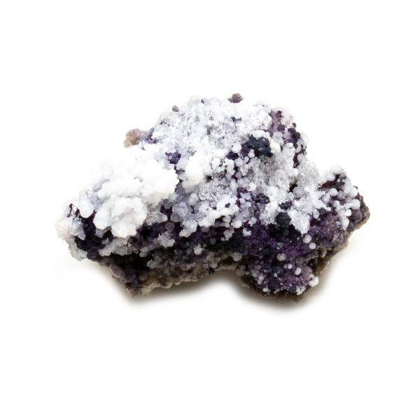 Fluorite with Selenite Cluster-0