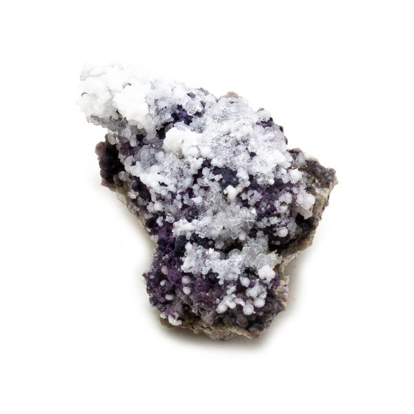 Fluorite with Selenite Cluster-218532