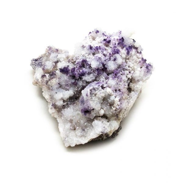 Fluorite with Selenite Cluster-218537