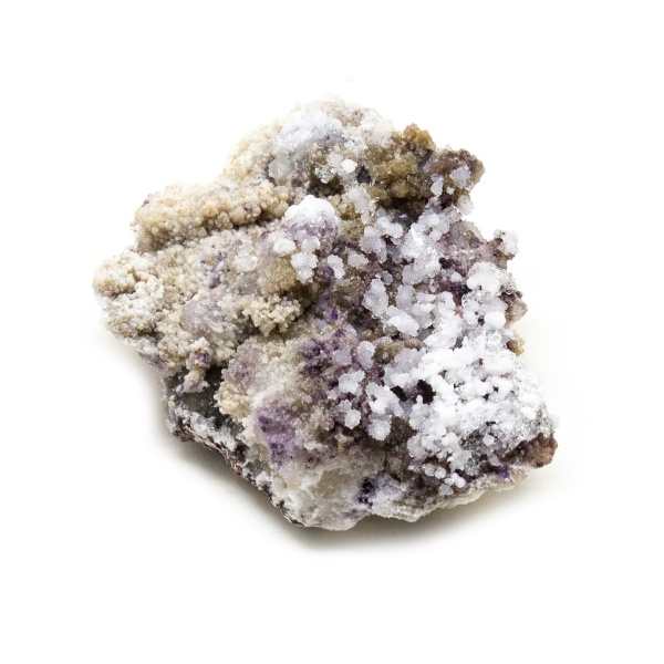 Fluorite with Selenite Cluster-218636