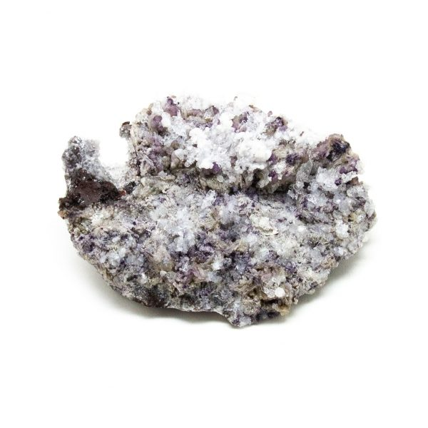 Fluorite with Selenite Cluster-219238