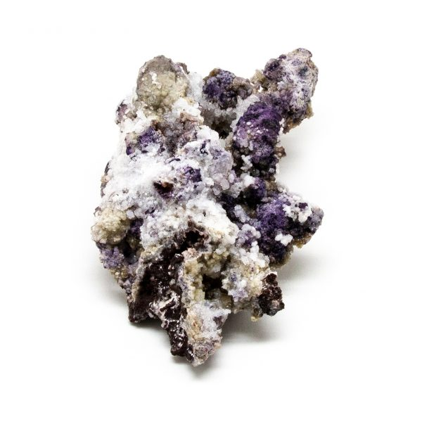Fluorite with Selenite Cluster-219398