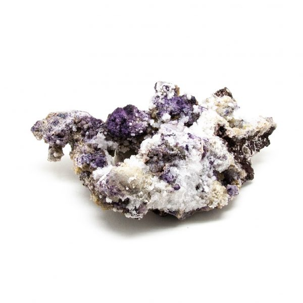 Fluorite with Selenite Cluster-219399