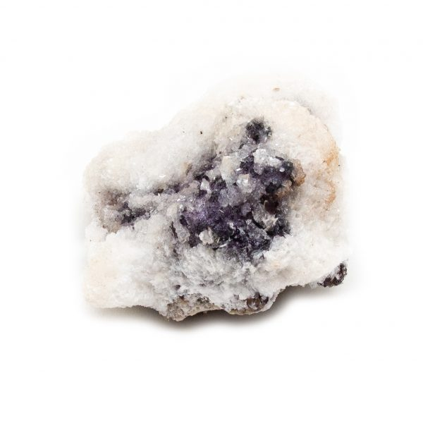Fluorite with Selenite Cluster-219896