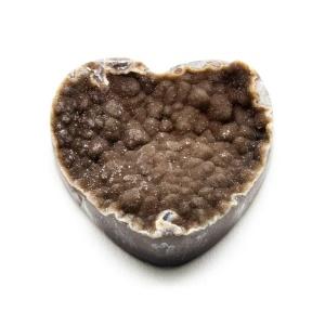 Druzy Agate Heart Cabochon-0
