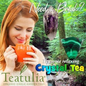 crystal tea teatulia organic tea with crystal energy