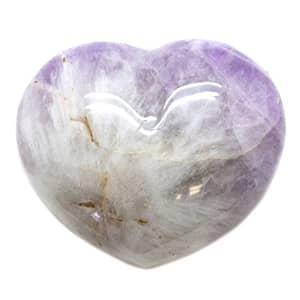 light amethyst healing heart