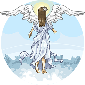 free crystal guide for angel crystals